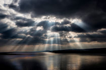 Sunbeams over Exmouth von David Hare