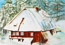 Haus auf dem Berg by Irina Usova