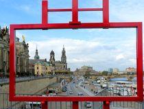 Canalettoblick in Dresden von gscheffbuch