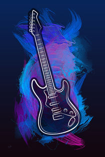 Guitar Craze by Bedros Awak