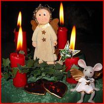 vierter Advent_01 von Angelika  Schütgens