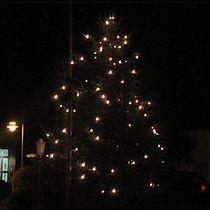 Weihnacht im Dorf von Angelika  Schütgens