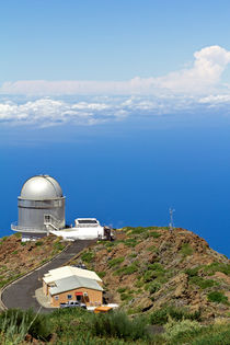 Nordic Optical Telescope auf La Palma by monarch