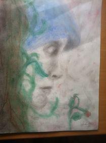 Die dritte Norne (Skuld) by Angela Ose