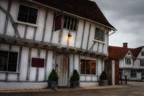 House in Lavenham. England. von Katarjina Telesh