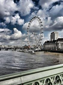 Cloudy Eye von Susanne  Mauz