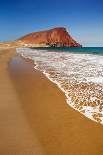 Playa la Tejita on Tenerife, Canary Islands, Spain von Sara Winter