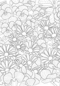 Blütenmeer von sha-designandart