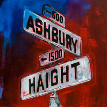 Haight and Ashbury von Elise Palmigiani