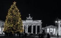 Brandenburger Tor zur Weihnachtszeit von Katja Bartz