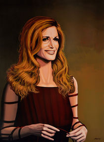 Dalida painting by Paul Meijering