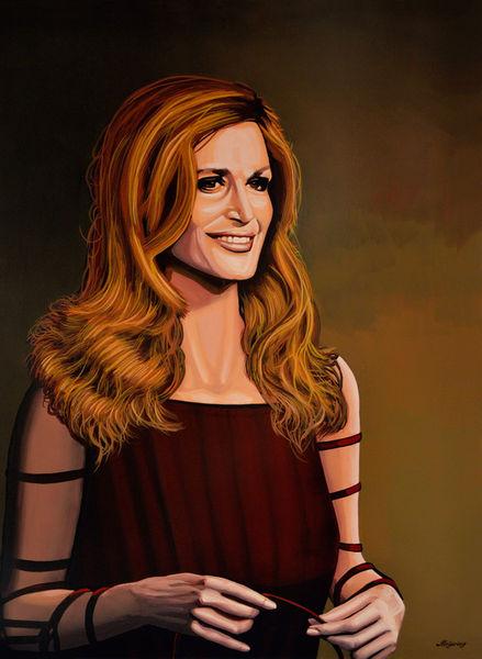 Dalida-painting