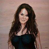 Sarah Brightman painting von Paul Meijering