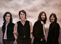 The Beatles painting von Paul Meijering