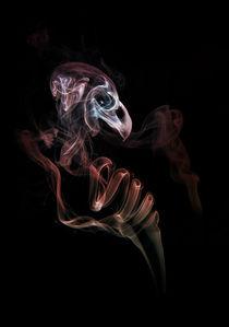 Smoke skull von Jarek Blaminsky