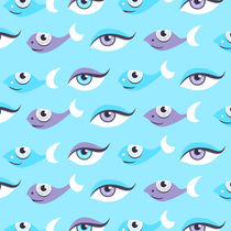 Fish-and-eyes-art-print