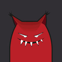 Evil Monster With Pointy Ears von Boriana Giormova