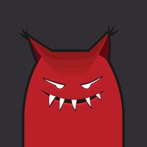 Evil Monster With Pointy Ears von Boriana Giormova