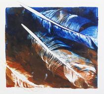 Die blaue Feder by Heike Jäschke