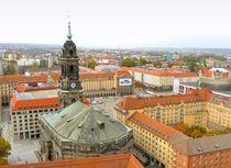 Dresden - Altmarkt mit Kreuzkirche  von gscheffbuch