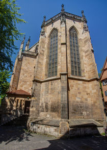 Apse of the Frauenkirche, Esslingen von safaribears