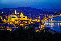 Night view of Budapest by ebjofrie