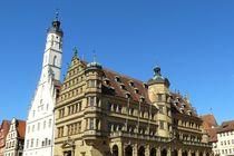 Das Rathaus von Rothenburg von gscheffbuch