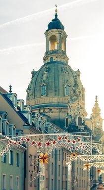Weihnachtliches Dresden - Frauenkirche von Ruby Lindholm