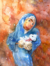 The Nativity According To Mary and Benjamin Butterscotch by Miki de Goodaboom