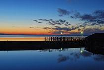 Nach Sonnenuntergang - Chiemsee  von Peter Bergmann