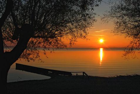 Chiemsee-sunset