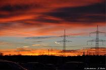 Sonnenuntergang Koblenz von shark24