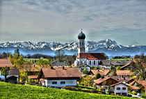 Alpenblick by Peter Bergmann
