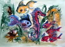 Seepferd mit Anhang by Dieter Greubel