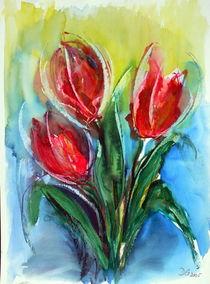drei Tulpen von Dieter Greubel