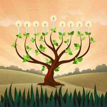 Menorah Tree by Peter  Awax
