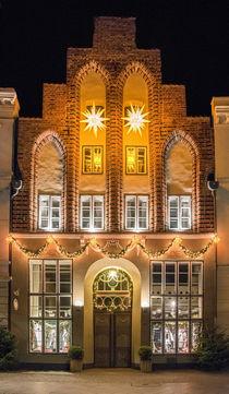 Lübeck, Königstraße von Roland Scheibner