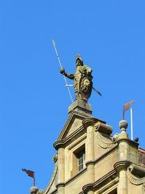 Auf dem Rothenburger Rathaus von gscheffbuch