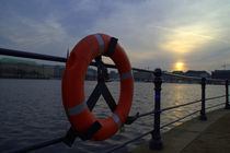 Alster Sunset von uta-behnfeld