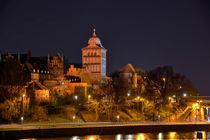 Lübeck: Das Burgtor von Roland Scheibner