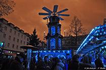 Weihnachtspyramide, Weihnachtsmarkt von shark24