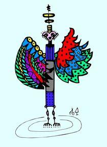 Rainbowangel von Hans-Peter Scherbaum