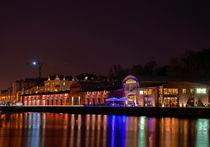 Lübeck: Hafenschuppen von Roland Scheibner
