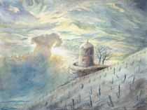 Wolkenspiel überm Jacobstein von Lieselotte Finke-Poser