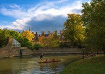 Autumn in Cambridge von Andrew Michael