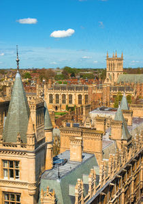 Cambridge Skyline von Andrew Michael