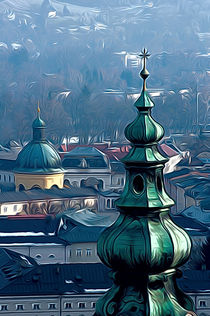 Salzburg Spires by Andrew Michael
