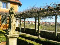 Blick auf die Silhouette von Rothenburg von gscheffbuch
