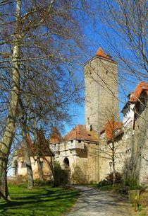 Das Burgtor in Rothenburg ob der Tauber von gscheffbuch