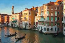 Venice canal von Andrew Michael